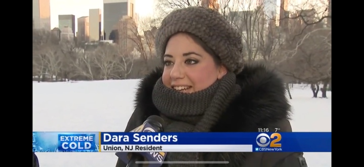 LOOK MOM, I'M ON THE NEWS! CBS 2 NEW YORK